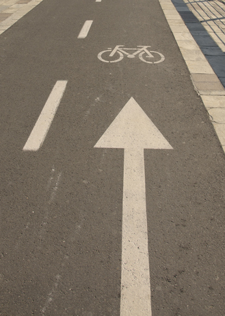 Bicycle road image